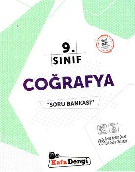 Kafa Dengi Yayınları 9. Sınıf Coğrafya Soru Bankası