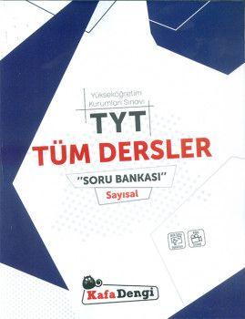 Kafa Dengi Yayınları TYT Tüm Dersler Sayısal Soru Bankası