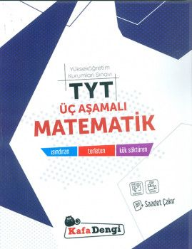 Kafa Dengi Yayınları TYT Üç Aşamalı Matematik Soru Bankası