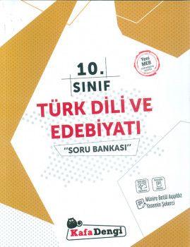 Kafa Dengi Yayınları 10. Sınıf Türk Dili ve Edebiyatı Soru Bankası