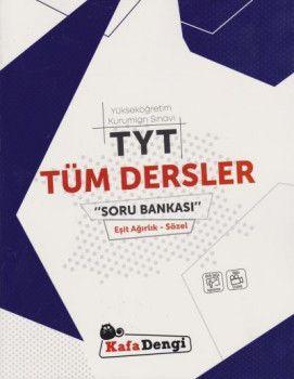 Kafa Dengi Yayınları TYT Tüm Dersler Eşit Ağırlık Sözel Soru Bankası