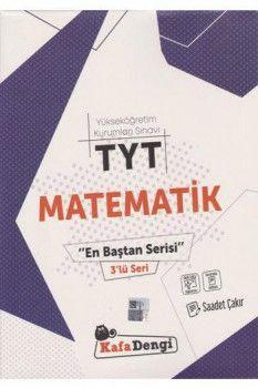 Kafa Dengi Yayınları TYT Matematik En Baştan Serisi 3 lü Seri