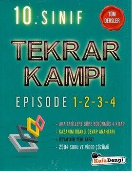 Kafa Dengi Yayınları 10. Sınıf Tüm Dersler Tekrar Kampı