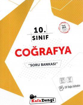 Kafa Dengi Yayınları 10. Sınıf Coğrafya Soru Bankası