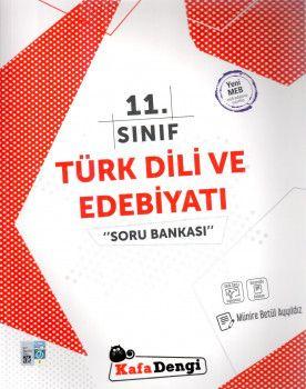 Kafa Dengi Yayınları 11. Sınıf Türk Dili ve Edebiyatı Soru Bankası