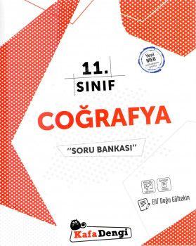Kafa Dengi Yayınları 11. Sınıf Coğrafya Soru Bankası