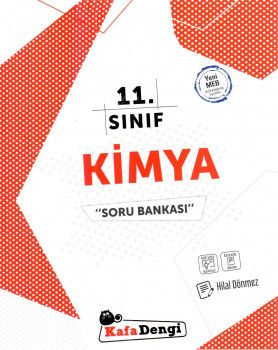 Kafa Dengi Yayınları 11. Sınıf Kimya Soru Bankası