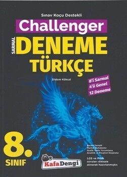 Kafa Dengi Yayınları 8. Sınıf Türkçe Challenger Sarmal Deneme