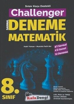 Kafa Dengi Yayınları 8. Sınıf Matematik Challenger Sarmal Deneme