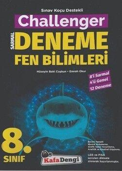 Kafa Dengi Yayınları8. Sınıf Fen Bilimleri Challenger Sarmal Deneme
