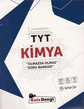 Kafa Dengi Yayınları TYT Kimya Olmazsa Olmaz Soru Bankası