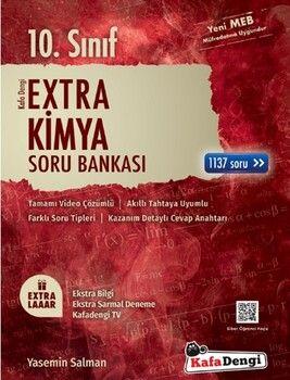 Kafa Dengi Yayınları 10. Sınıf Kimya Extra Soru Bankası