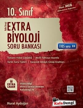 Kafa Dengi Yayınları 10. Sınıf Biyoloji Extra Soru Bankası