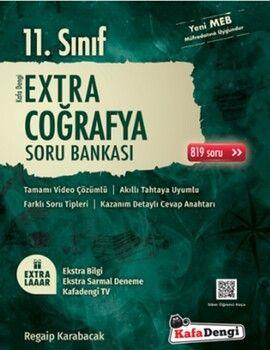 Kafa Dengi Yayınları 11. Sınıf Coğrafya Extra Soru Bankası