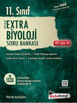 Kafa Dengi Yayınları 11. Sınıf Biyoloji Extra Soru Bankası