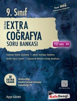 Kafa Dengi Yayınları 9. Sınıf Coğrafya Extra Soru Bankası