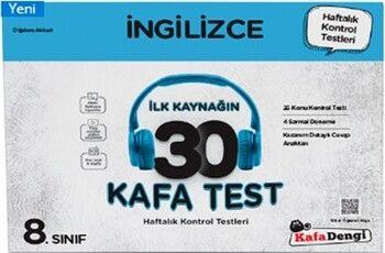 Kafa Dengi Yayınları 8. Sınıf İngilizce İlk Kaynağın 30 Kafa Test