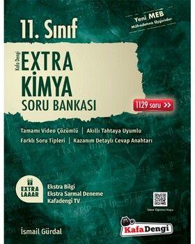 Kafa Dengi Yayınları 11. Sınıf Kimya Extra Soru Bankası