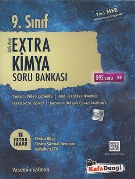 Kafa Dengi Yayınları 9. Sınıf Extra Kimya Soru Bankası