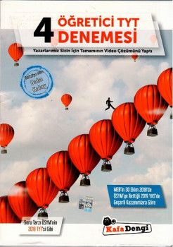 Kafa Dengi Yayınları TYT 4 lü Öğretici Denemesi