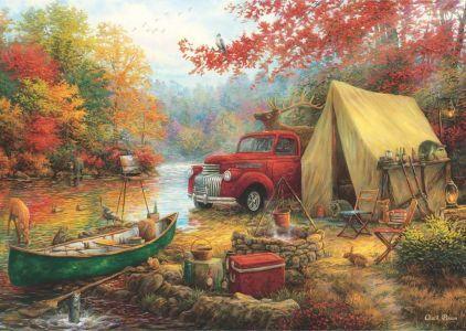 Kamp Arkadaşları Share The Outdoors 1500 Parça Yapboz