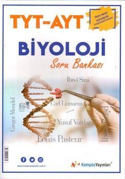 Kampüs Yayınları TYT AYT Biyoloji Soru Bankası