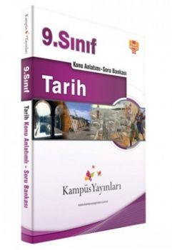 Kampüs Yayınları 9. Sınıf Tarih Konu Anlatımlı Soru Bankası