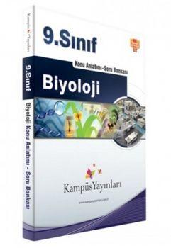 Kampüs Yayınları 9. Sınıf Biyoloji Konu Anlatımlı Soru Bankası