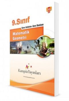 Kampüs Yayınları 9. Sınıf Matematik Geometri Konu Anlatımlı Soru Bankası