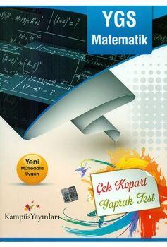 Kampüs Yayınları YGS Matematik Çek Kopart Yaprak Test