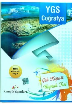 Kampüs Yayınları YGS Coğrafya Çek Kopart Yaprak Test