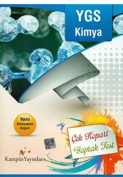 Kampüs Yayınları YGS Kimya Çek Kopart Yaprak Test