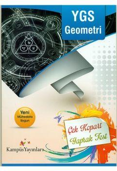 Kampüs Yayınları YGS Geometri Çek Kopart Yaprak Test