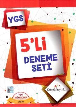 Kampüs Yayınları YGS 5 li Deneme Seti
