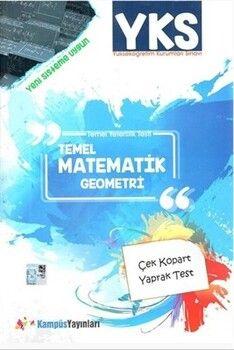 Kampüs Yayınları YKS Temel Matematik Geometri Çek Kopart Yaprak Test