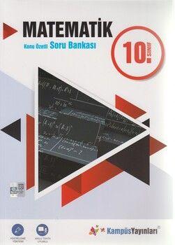 Kampüs Yayınları 10. Sınıf Matematik Konu Özetli Soru Bankası
