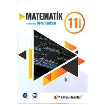 Kampüs Yayınları 11. Sınıf Matematik Konu Özetli Soru Bankası