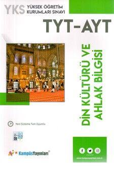 Kampüs Yayınları TYT AYT Din Kültürü ve Ahlak Bilgisi Soru Bankası