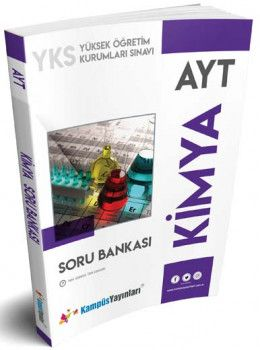 Kampüs Yayınları  AYT Kimya Soru Bankası