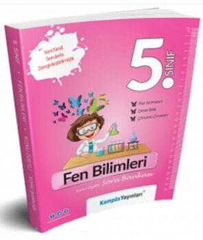 Kampüs Yayınları 5. Sınıf Fen Bilimleri Konu Özetli Soru Bankası