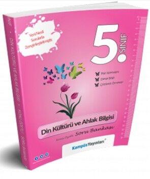 Kampüs Yayınları 5. Sınıf Din Kültürü ve Ahlak Bilgisi Konu Özetli Soru Bankası