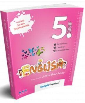 Kampüs Yayınları 5. Sınıf İngilizce Konu Özetli Soru Bankası