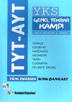 Kampüs Yayınları TYT AYT Eşit Ağırlık Sözel Tüm Dersler Soru Bankası