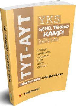 Kampüs Yayınları TYT AYT Sayısal Tüm Dersler Soru Bankası