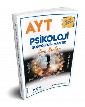 Kampüs Yayınları AYT Psikoloji Sosyoloji Mantık Soru Bankası