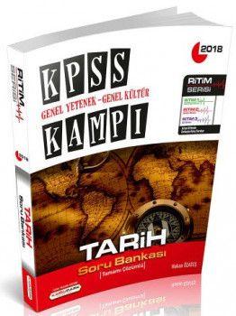 Kamu Park 2018 KPSS Genel Yetenek Genel Kültür Tarih Tamamı Çözümlü Soru Bankası