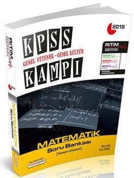 Kamu Park Yayınları 2018 KPSS Genel Yetenek Genel Kültür Kampı Matematik Tamamı Çözümlü Soru Bankası