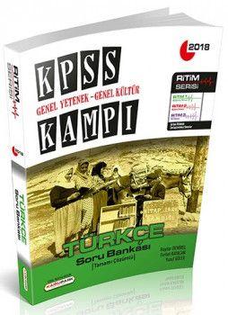 Kamu Park Yayınları 2018 KPSS Genel Yetenek Genel Kültür Kampı Türkçe Soru Bankası