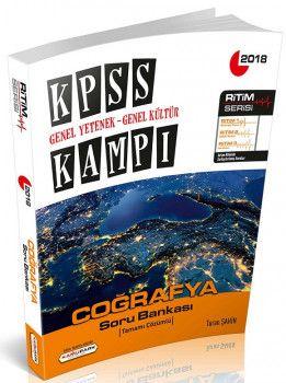 Kamu Park Yayınları KPSS ve Tüm Kurum Sınavları İçin Genel Yetenek Genel Kültür Coğrafya Soru Bankası