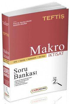 Kamu Park Yayınları KPSS TEFTİŞ Makro İktisat Soru Bankası Cilt 2